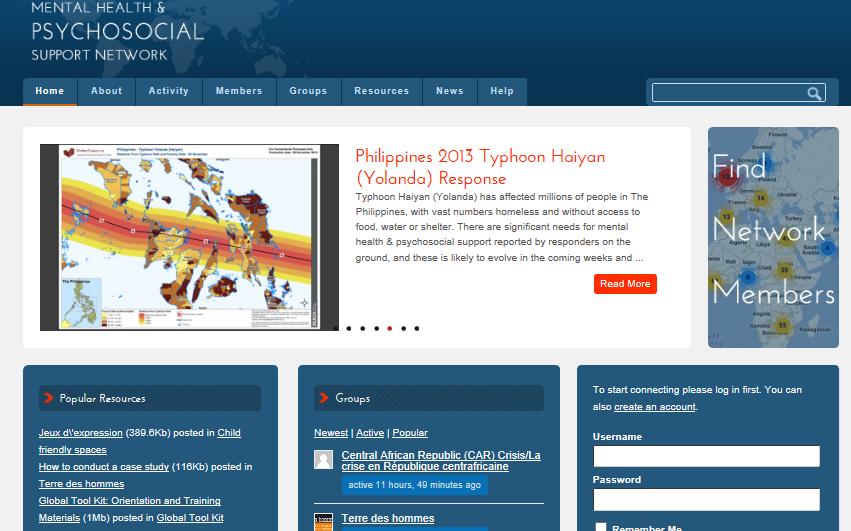 15 Global Mental Health Information and Network Websites ...