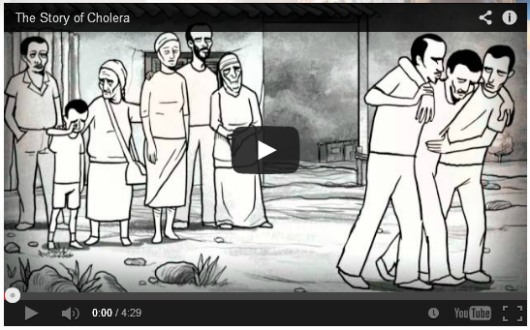 'The Story of Cholera' animation video from the Global Health Media Project, 2011