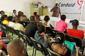 photo from CORDAID mental health capacity building session in Haiti, 2011