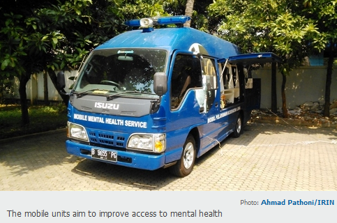 Mobile mental health care, Indonesia